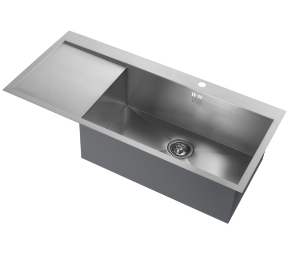 1810 Company Zenuno 70 I-F Deep BBR 1.0 Bowl Kitchen Sink With Left Hand Drainer