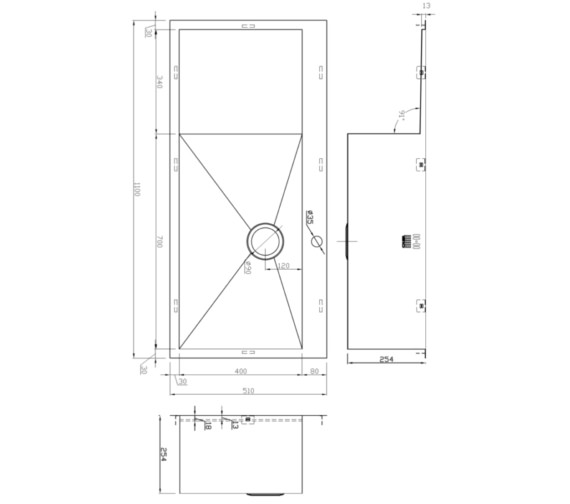 Technical drawing QS-V9146 / ZU/70/IF/D/S/BBR/041