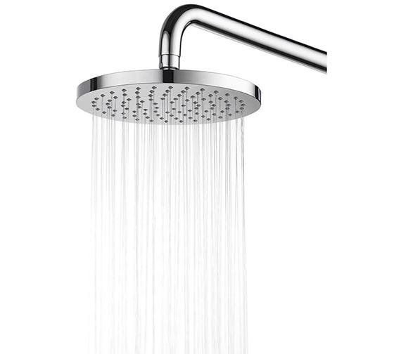 Alternate image of Aqualisa Visage Digital Divert Hand Shower And Wall Drencher-Gravity Pumped