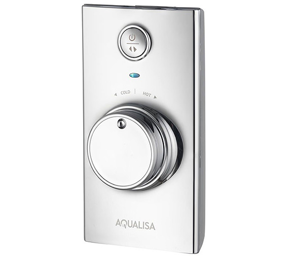 Additional image of Aqualisa Visage Digital Divert Hand Shower And Wall Drencher - HP Combi