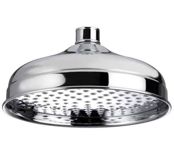 Bristan Traditional 200mm Round Fixed Shower Head Chrome