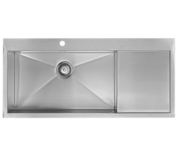 Additional image of 1810 Company Zenuno 70 I-F Deep BBL 1.0 Bowl Kitchen Sink With Drainer