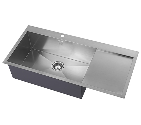 Alternate image of 1810 Company Zenuno 70 I-F Deep BBR 1.0 Bowl Kitchen Sink With Left Hand Drainer