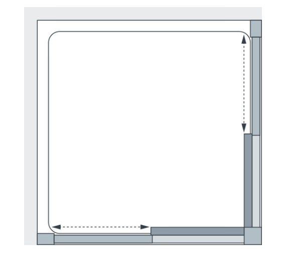 Technical drawing QS-V86189 / 8HC070S