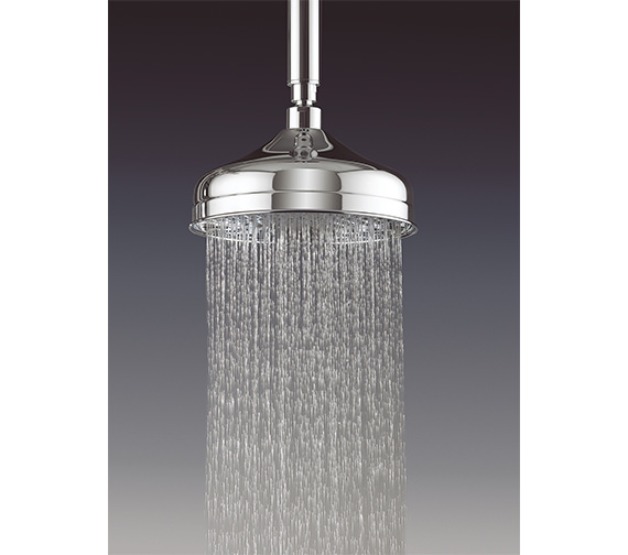 Crosswater Belgravia 150mm Round Fixed Shower Head Chrome