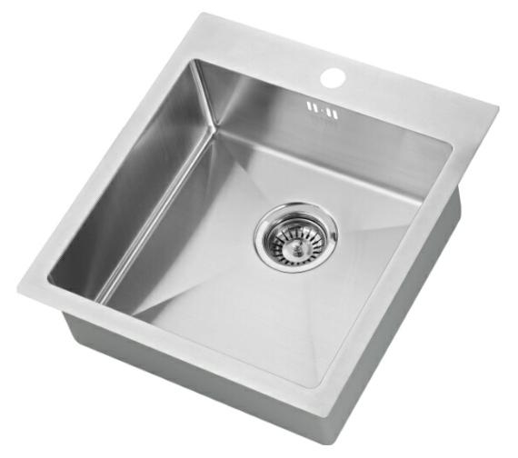 1810 Company Zenuno 400 I-F 15R 1.0 Bowl Kitchen Sink