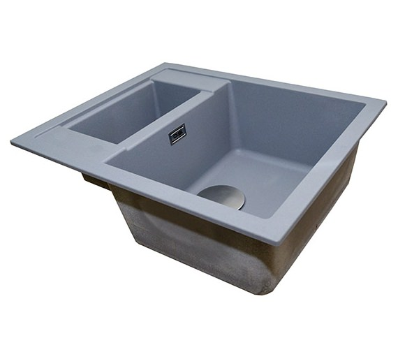 Alternate image of 1810 Company Purquartz Shardduo 615i 1.5 Bowl Inset Sink