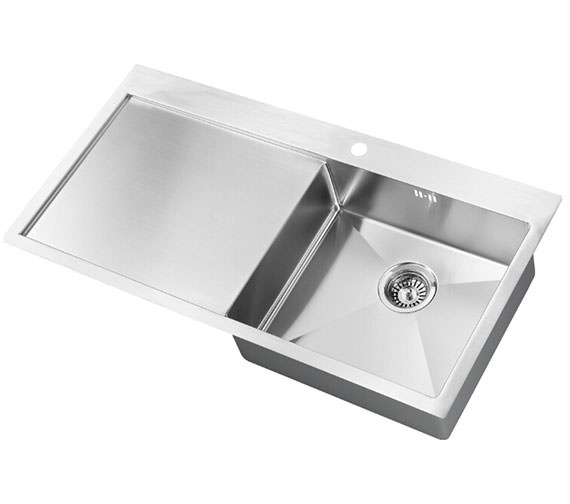 1810 Company Zenuno 5 I-F 15R BBR 1.0 Bowl Sink With Left Hand Drainer