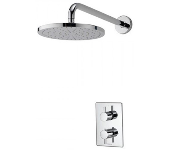 Aqualisa Dream DCV Concealed Thermostatic Shower Valve With Wall Fixed Head