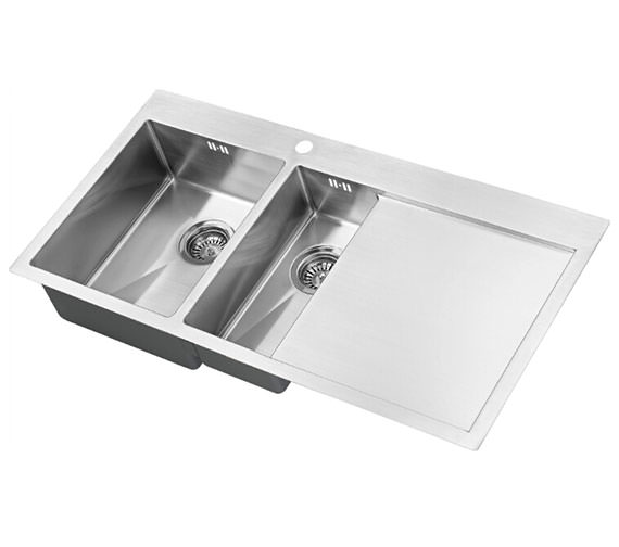 1810 Company Zenduo 6 I-F 15R BBL 1.5 Bowl Sink With Right Hand Drainer