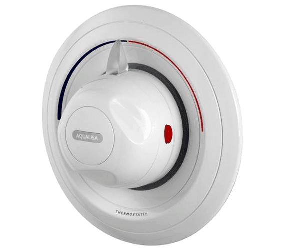 Aqualisa Aquavalve 609 White Concealed Thermostatic Shower Valve
