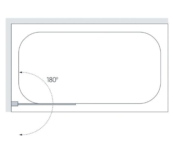 Technical drawing QS-V86203 / BS850ML