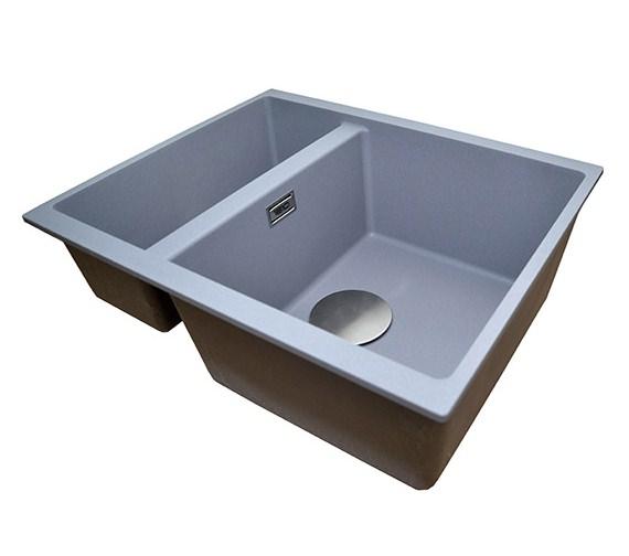 Alternate image of 1810 Company Purquartz Cavaduo 335-155U 1.5 Bowl Undermount Sink