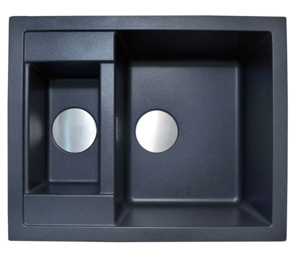 1810 Company Purquartz Shardduo 615i 1.5 Bowl Inset Sink