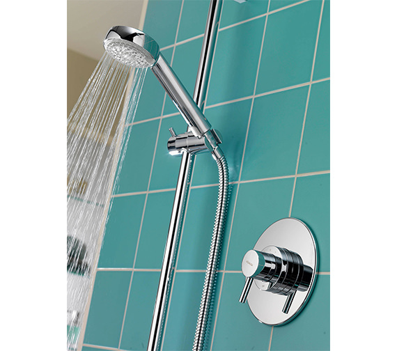 Additional image of Aqualisa Siren SL Concealed Thermostatic Shower Mixer Valve With Kit