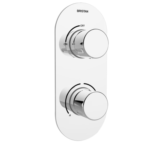 Bristan Pivot Thermostatic Recessed Dual Control Shower Valve