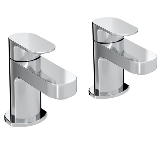 Bristan Frenzy Pair of Deck Mounted Bath Taps