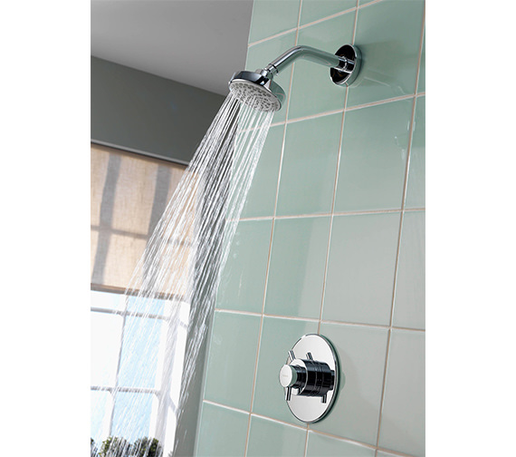Aqualisa Aspire DL Concealed Thermostatic Shower Mixer With Fixed Head