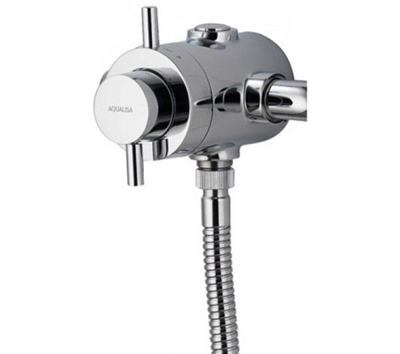 Alternate image of Aqualisa Aspire DL Exposed Thermostatic Shower Mixer Valve With Kit
