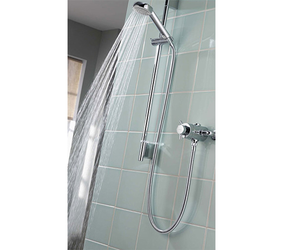 Additional image of Aqualisa Aspire DL Exposed Thermostatic Shower Mixer Valve With Kit