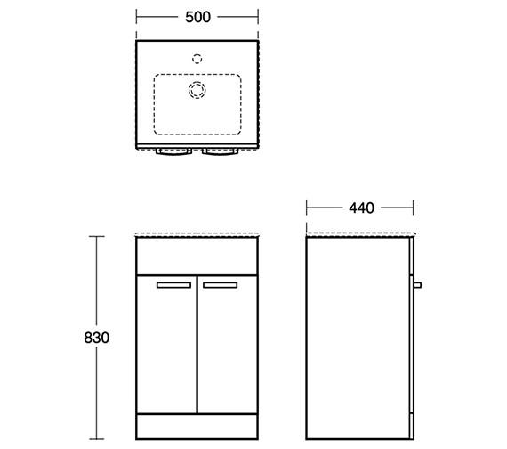 Technical drawing QS-V8458 / E1102SG
