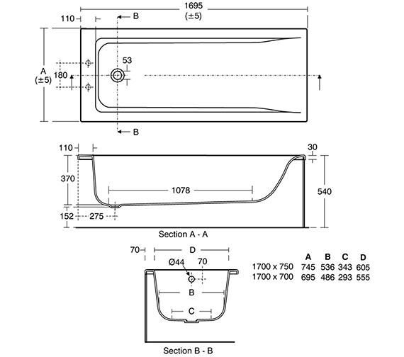 Technical drawing QS-V8466 / E860001