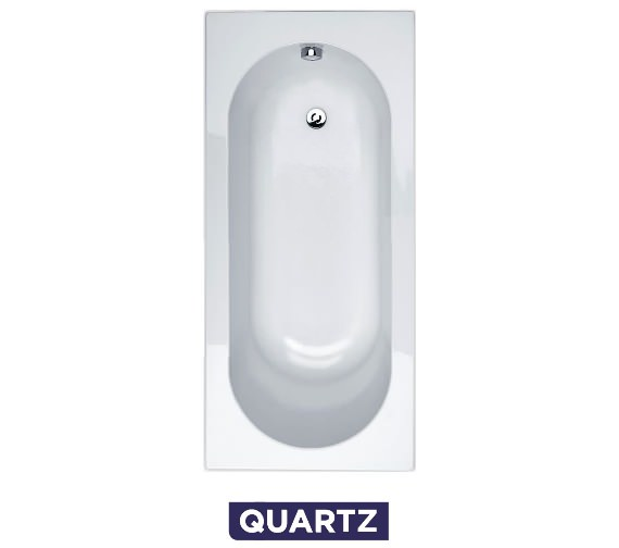 Essential Kingston 1700 x 700mm Quartz Rectangular Single Ended Bath