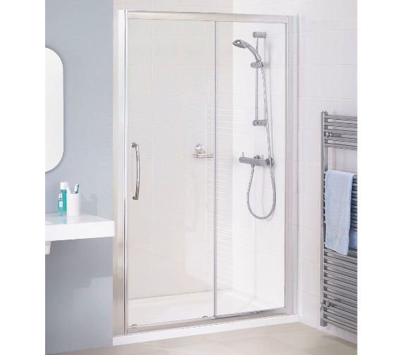 Lakes Classic 1300mm Semi-Frameless Slider Door
