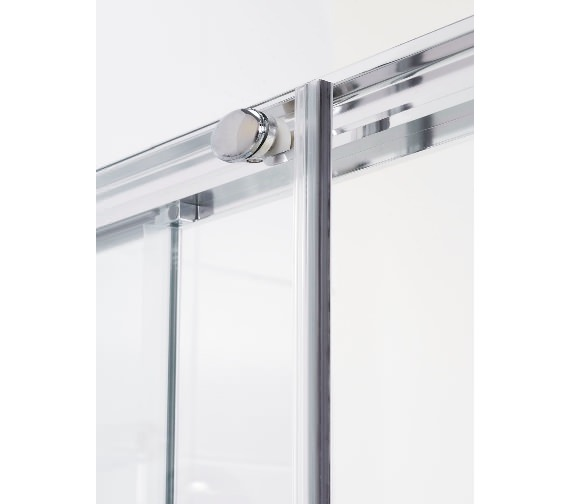 Lakes classic 1300mm semi frameless slider door for 1300 mm sliding shower door