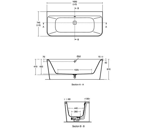 Technical drawing QS-V3393 / E396101