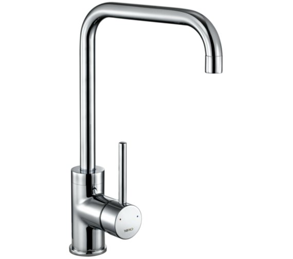 1810 Company Cascata Square Spout Chrome Kitchen Sink Mixer Tap