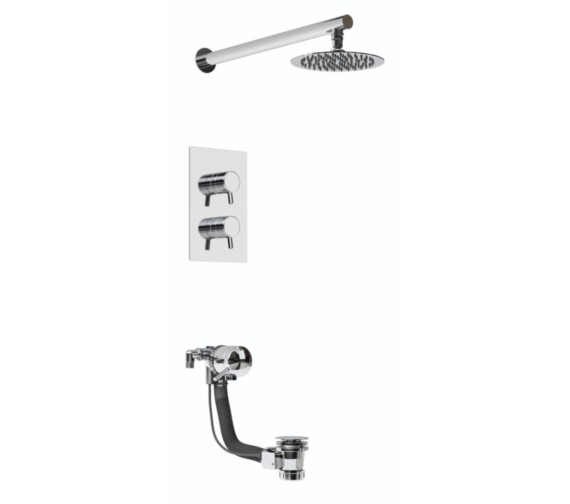 Bristan Prism Recessed Dual Control Shower Pack