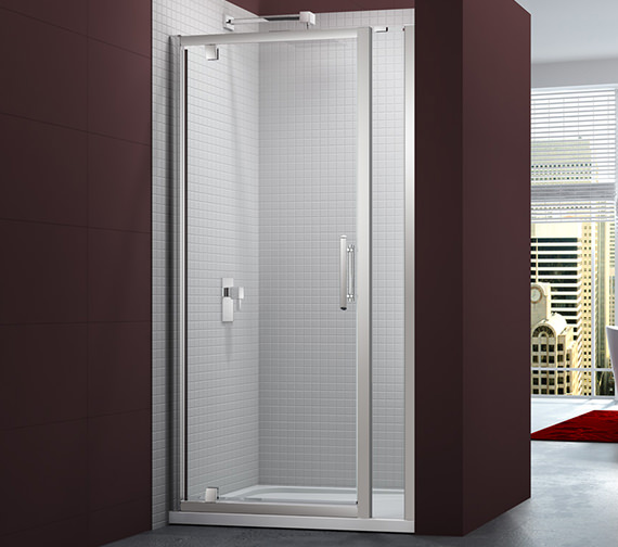 Merlyn 6 Series 900mm Pivot Door And 140mm Inline Panel