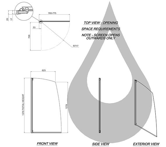 Technical drawing QS-V31259 / 1160130