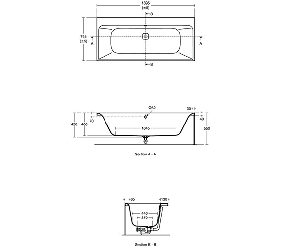 Technical drawing QS-V3397 / E395401