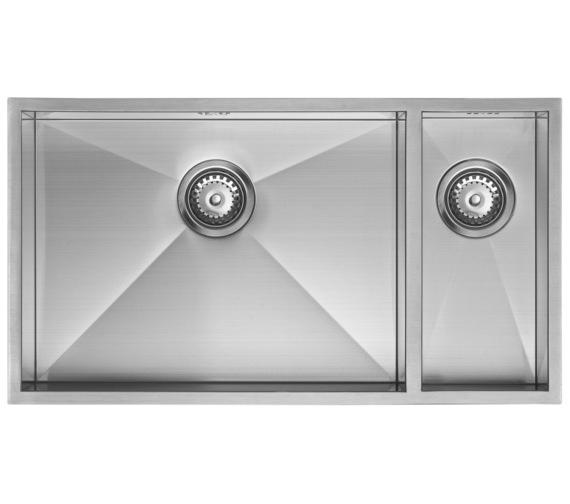 Additional image of 1810 Company Zenduo 550-180U BBL 1.5 Bowl Kitchen Sink Left hand Big Bowl