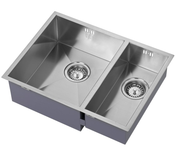 1810 Company Zenduo 340-180U BBL 1.5 Bowl Kitchen Sink Left hand Big Bowl