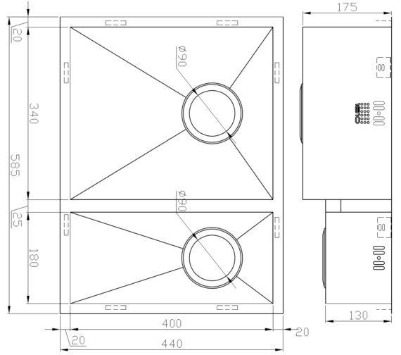 Technical drawing QS-V9114 / ZD/3418/U/S/BBL/022