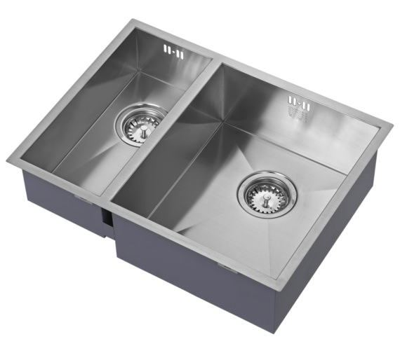 Additional image of 1810 Company Zenduo 340-180U BBL 1.5 Bowl Kitchen Sink Left hand Big Bowl