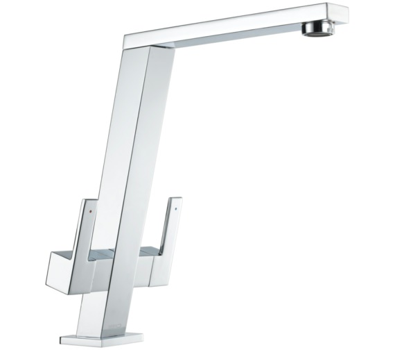 1810 Company Pendenza Angle Spout Chrome Kitchen Sink Mixer Tap