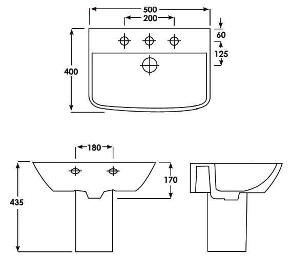 Technical drawing QS-V83806 / EC5001|EC5002