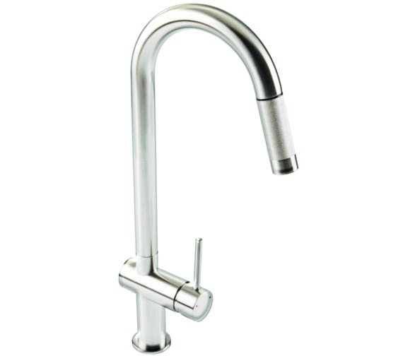 1810 Company Grande Pull Out Spray Kitchen Sink Mixer Tap Chrome