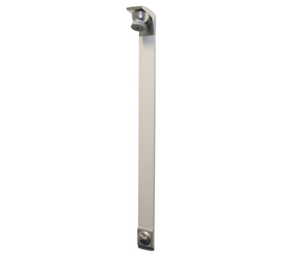 Bristan Timed Flow Shower Panel With Adjustable Shower Head