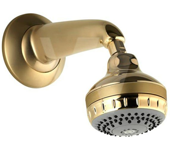 Aqualisa Gold Turbostream Fixed Head And Wall Arm