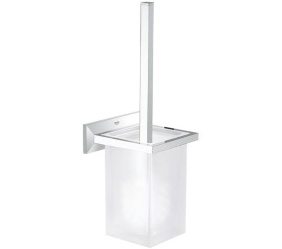 Grohe Allure Brilliant Toilet Brush Set