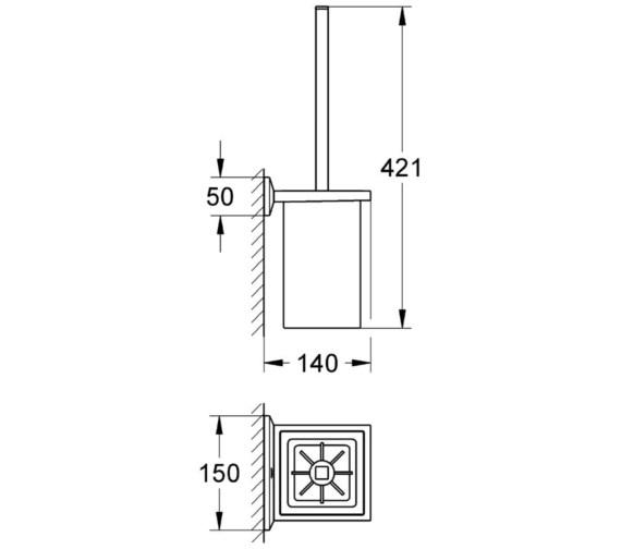 Technical drawing QS-V13377 / 40500000