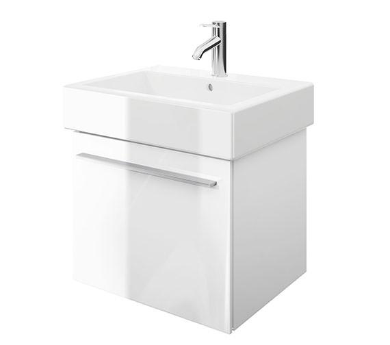 Duravit X-Large 550mm Vanity Unit With 600mm Vero Washbasin