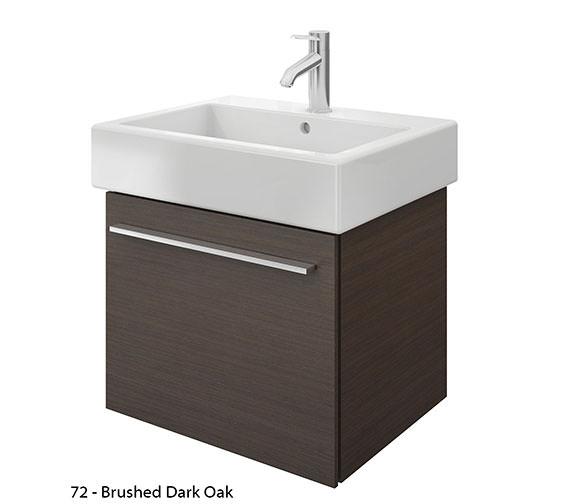 Alternate image of Duravit X-Large 550mm Vanity Unit With 600mm Vero Washbasin