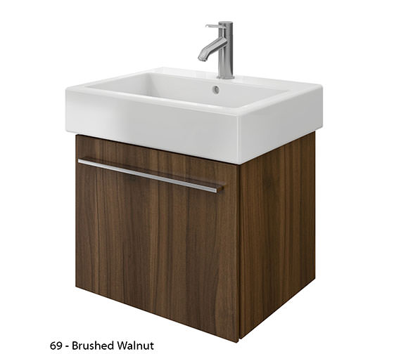 Additional image of Duravit X-Large 550mm Vanity Unit With 600mm Vero Washbasin
