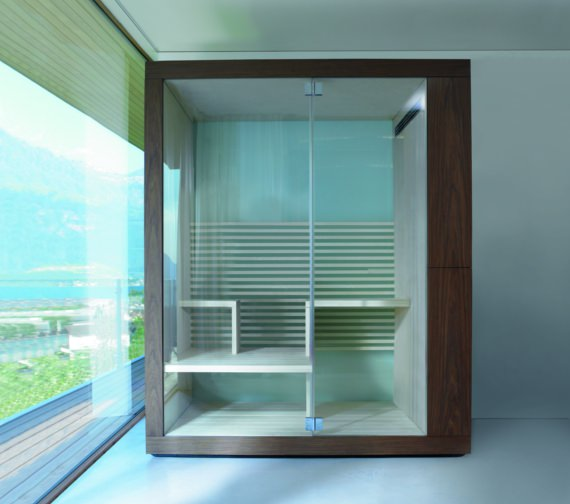 Duravit Inipi Sauna 2350 x 1170mm Back-To-Wall And Corner Version